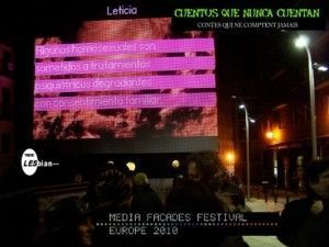 toxiclesbian.org; cuentos_que_nunca_cuentan; festival_fachadas_digitales_europeo