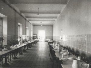 Leganés psychiatric hospital at the 40's