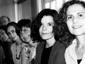 """Las autoras del libro """"Cartas desde el manicomio"""" (Villasante, Candela, Conseglieri, Tierno, Vázquez de la Torre y Huertas, 2018)"""