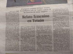 Relato femenino en Tetuán El País Madrid, 28/08/2018