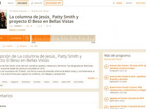 El Beso en Bellas Vistas Radio Almenara, Buenos Días Tetuán 1/06/2018