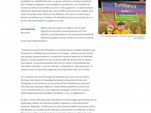 Próxima estación… Tortilleras El País 1/7/2008