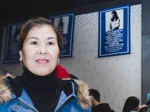 Algunas de las mujeres protagonistas del proyecto el día de la inauguración
